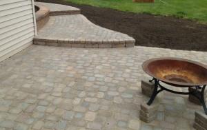 tumbled brick pavers