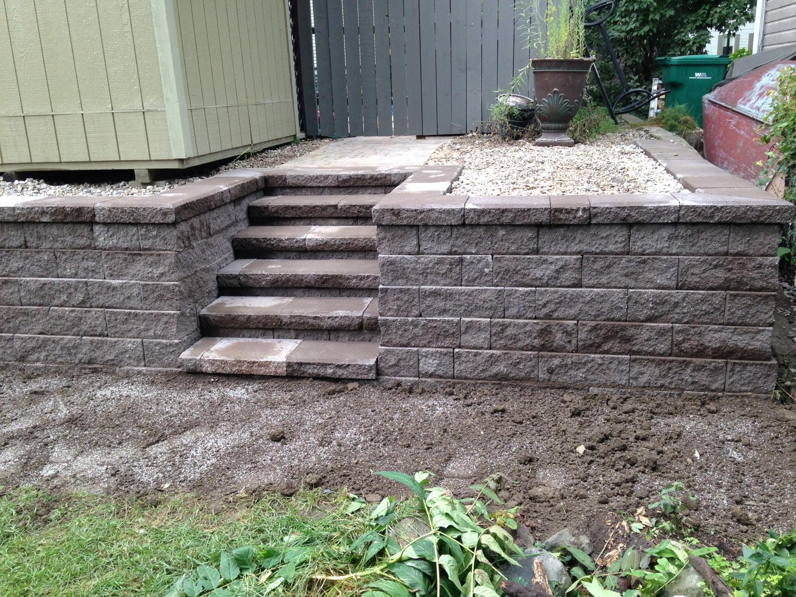 Retaining Wall Installation Contractor